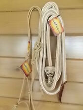 AUTHENTIC~CLINTON~ANDERSON~HALTER and LEAD ROPE~`NEW~TAN~average horse size