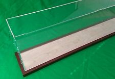 """42"""" Clear Acrylic Display Case for Cruise Ships LGB AND G Scale trains 1/32 1/23"""