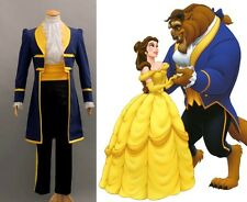 NEW Beauty and the Beast Prince Adam Cosplay Costume