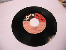 Little Johnny Taylor It's My Fault/There Is Something 45 RPM Ronn Records VG+