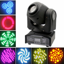 50W RGBW LED Moving Head Light DMX DJ Club Disco Stage Party Lighting US R8LU