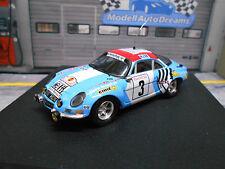 RENAULT Alpine A110 1800 S Rallye Marokko Maroc 1974 Winner Nicolas Trofeu 1:43