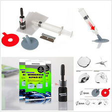Car Windshield Windscreen Scratches Auto Window Glass Chip Crack Repair Tool Kit
