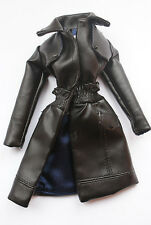 Leather coat from Clash Control Erin fashion royalty
