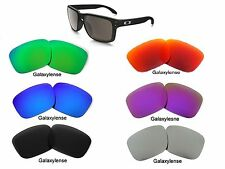 Galaxy Replacement Lenses For Oakley Holbrook Black Color Polarized 100%UVAB