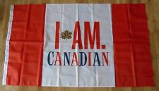MOLSON CANADIAN BEER PROMO FLAG CANADA FLAG LIMITED COLLECTIBLE LARGE