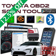 Toyota OBD2 Scan Tool Bluetooth Tachyon OBDII Diagnostic Interface Scanner