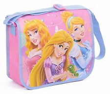 GIRLS DISNEY PRINCESS MESSENGER BAG NURSERY KIDS SCHOOL TRAVEL HOLIDAY BAG
