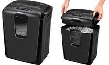 Destructeur de documents 8 feuilles/CD/DVD- 15 litres