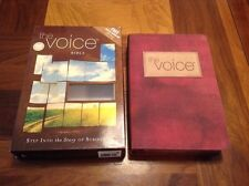 The Voice Bible - $69.99 Retail - Fabric & Leathersoft Cover