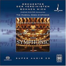 From New York To Vienna-Musical Goes Symphon (2002, SACD NIEUW) Sacd/Hybrid/6 CH