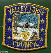 BOY SCOUT PATCH - VALLEY FORGE COUNCIL - FREE SHIPPING XX