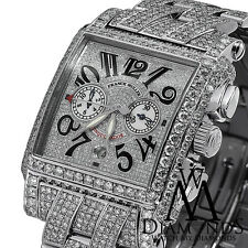 Mens Diamond Franck Muller Watch Pave Conquistador Cortez  30.00ct