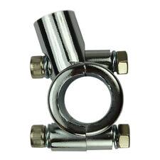 Aluminium Chrom Motorrad Spiegelhalterung Spiegelschelle für 22 mm Lenker