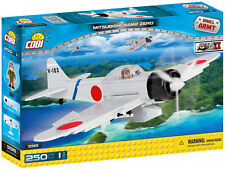 "SMALL ARMY /5515/ ""Mitsubishi A6M2 Zero-Sen"", 250 building bricks by Cobi"