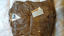Premium Quality Sheep Leather Dark Mushroom Ladies Jacket  Size 3XLarge