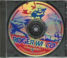 SPACE QUEST IV Roger Wilco and the Time Rippers PC Game CD-ROM Adventure