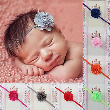 NT 10pcs Flower Headband Hair Band Accessories For Kids Girl Baby Toddler Infant