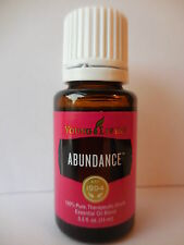 ABUNDANCE 15ML Young Living Essential Oil: Frankincense Myrrh Spruce Orange++