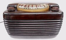 Vintage all original Philco Radio Model 42-420 HIPPO tobacco Bakelite WORKS