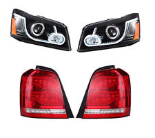 LED DRL Projector Headlights and Tail Light for 2001-2007 TOYOTA HIGHLANDER
