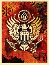 Shepard Fairey - Keep it Underground - Obey Giant - Signed and Numbered - Eagle