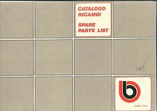 CATALOGO RICAMBI BIMOTA SB3 COPY OLD CODE SPARE PARTS CATALOGUE ( ITA - ENG )