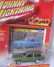 `72 Chevrolet Vega Wagon Green 1972 *RR* Johnny Lightning Classic Gold 1:64 OVP