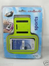 B2:New Sports Armband Case Hold for Android Smartphones-Green