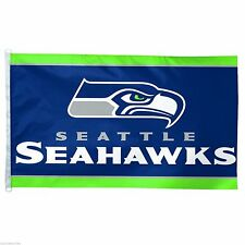 NFL Seattle Seahawks Wincraft 3' X 5' Flag Banner Indoor Outdoor w/ D-Ring NEW!