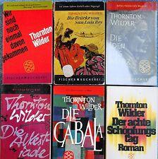 7 x Thornton Wilder  - Konvolut, Romane - Paket