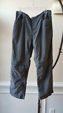 Outdoor Research Camping Hiking Trail Fishing Convertible Pants Size 10 Gray