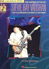 Stevie Ray Vaughan Guitar Style : Step by Step Breakdown of Technique (Book/CD)