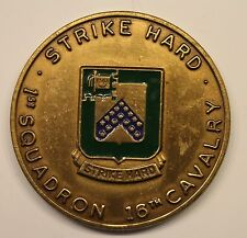 16th Cavalry 1st Squadron Centurion 6 Serial #209 Army Challenge Coin