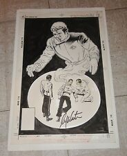 "STAR TREK #53 WILLIAM SHATNER signed ""Death of Kirk"" ORIGINAL COVER ART ~ 1988"