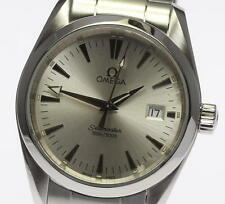 Authentic OMEGA Seamaster Aqua Terra 2518.30 Quartz Boy's Wrist Watch_320814