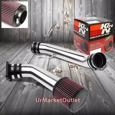 Cold Air Intake Polish Pipe/K&N RU2430 Filter For Infiniti 03-06 G35 V35 V6