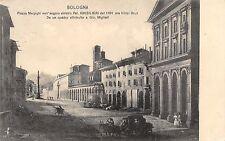 4271) BOLOGNA, PIAZZA MALPIGHI CON PALAZZO GHISILIERI ORA HOTEL BRUN.