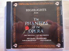 Highlights from the Phantom of the Opera [Special Gold Edition] by Original...