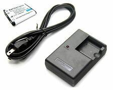 3.7v 1200mAh Li-ion Battery + Charger for Sealife SL-1614 SL1614 SL-7014 SL7014