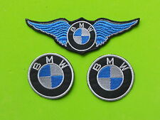 BMW  KIT 3 PATCH TOPPE RICAMATE TERMOADESIVE
