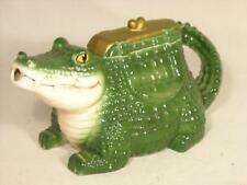 VINTAGE 70's VANDOR ALLIGATOR TEA POT TEAPOT / WATER POT / CREAMER CERAMIC