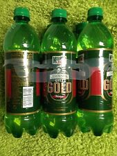 MOUNTAIN DEW JOHNSON CITY GOLD 24oz PLASTIC BOTTLE 6 pack full free shipping