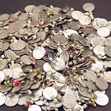 500 real COINS Tribal Belly Dance Kuchi Tribe SMALL ((polished))