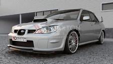 SPLITTER anteriore (NERO LUCIDO) - Subaru Impreza MK2 WRX STI (HAWKEYE) 2006-2007