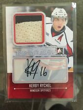 2013-14 Heroes & Prospects AUTO Jersey /19 Kerby Rychel ITG In The Game SP 13/14