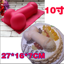 1PC Silicone Hens Party Penis Cake Mould /Big Willy Cake Template / BIG Dick