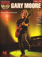 Guitar Play-Along Gary Moore Learn Play Blues Empty Rooms TAB Music Book CD