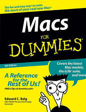 Macs For Dummies by Edward C. Baig (Paperback, 2006)