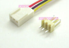 2510 2.54mm 3-Pin female housing Connector Plug with Wire & male terminal 10 SET